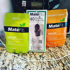 Teatox 14 Days Tea MINI | MateFit.Me Teatox Co
