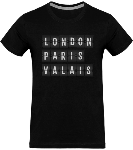 T-shirt - LONDON - PARIS - VALAIS - Pour lui