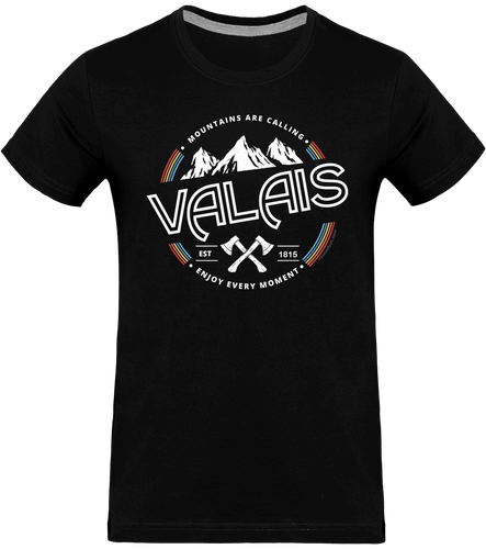T-shirt - VALAIS ENJOY EVERY MOMENT- Pour lui