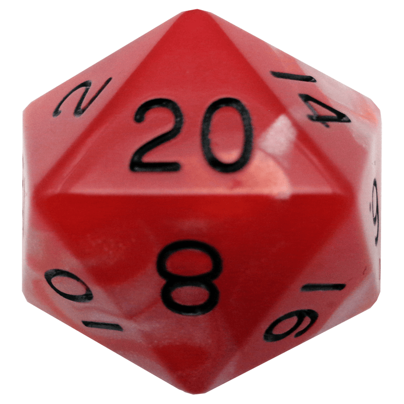 35mm Combo: red/White w/ Black Numbers
