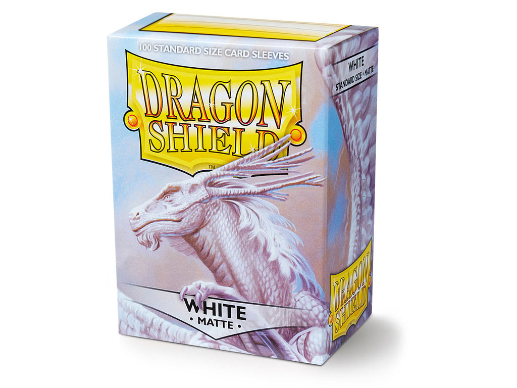 Dragon Shield White Regular Size Sleeves