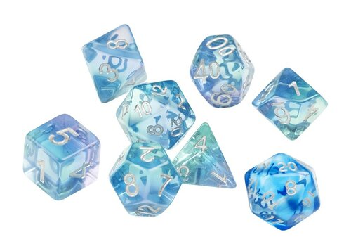 Dice Set - Emeral Waters