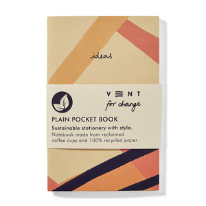 vent for change a6 ideas pocket book plain pink