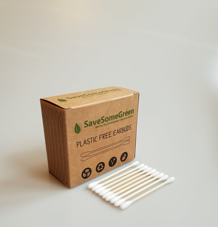Biodegradable Bamboo Cotton Buds - 200