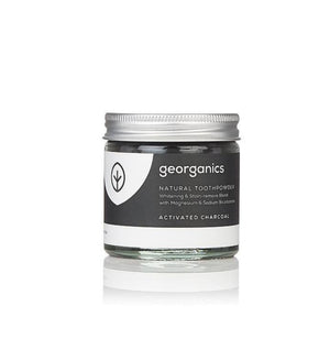 Natural Toothpowder Activated Charcoal Georganics