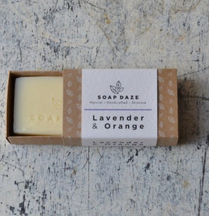 Vegan Soap Bar Lavender & Orange Soap Daze
