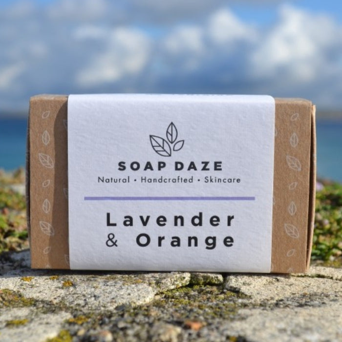 Vegan Soap Bar - Lavender & Orange - 112g