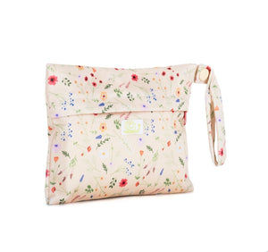 Reusable Sanitary Pad Mini Bag Wildflowers