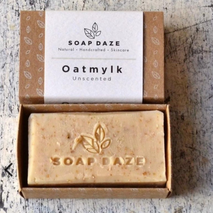 Oatmylk Unscented Soap - 112g - Soap Daze