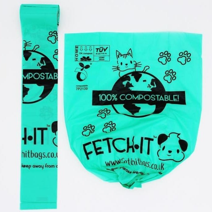 Compostable Poo Bags - FETCH·IT x 60 Bags