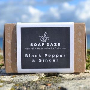 Vegan Soap Black Pepper and Ginger Soap Daze