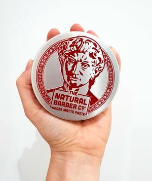 Hades Matte Paste Hair Wax - The Natural Barber Co