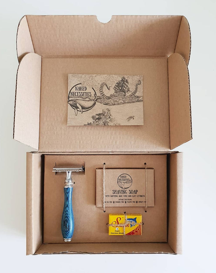 The Naked Shave Kit - Limited Edition Blue Ocean