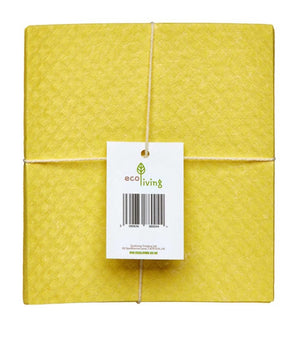 Compostable Sponge Cleaning Cloths x4