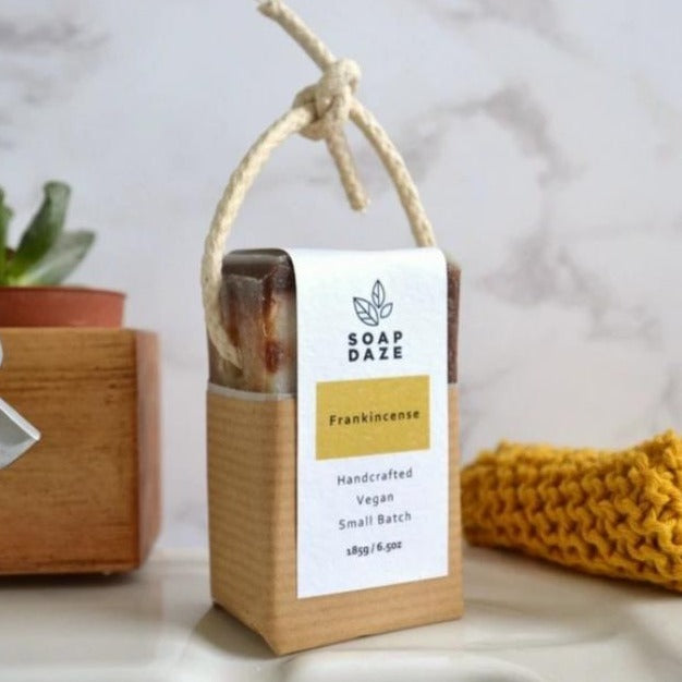 Soap On A Rope - Frankincense -185g