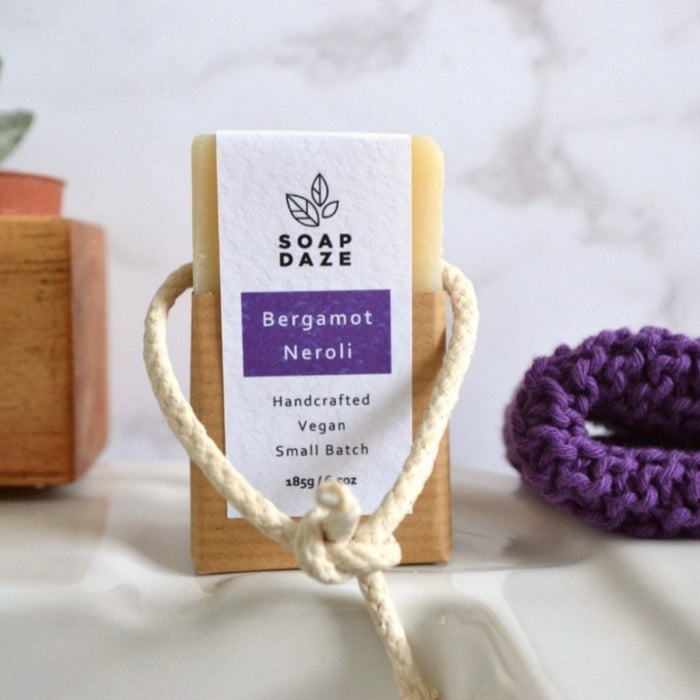 Soap On A Rope - Bergamot & Neroli -185g - Soap Daze