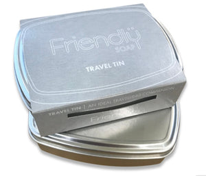 Travel Tin friendly soap