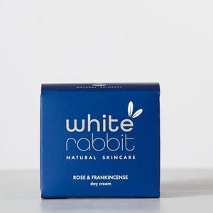 rose & frankincense day cream white rabbit