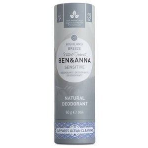 highland breeze sensitive deodorant ben and anna