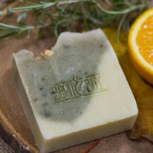 natural gin & tonic soap bean and boy