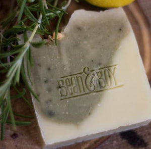 gin & tonic soap bean and boy
