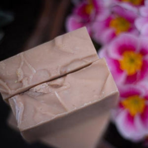 Rose Geranium & Pink Clay Vegan Soap - Bean & Boy - 110g