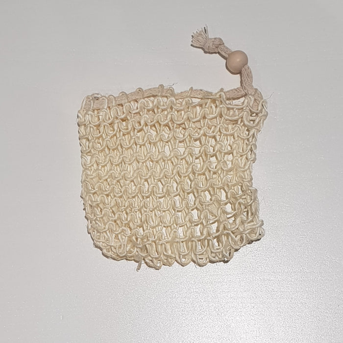 Sisal Soap Pouch Bag