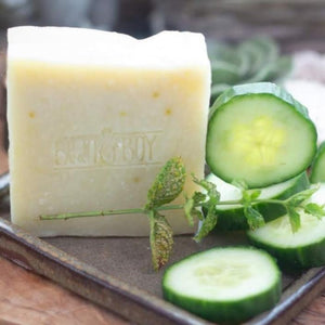 bean & boy cucumber and mint soap 40g