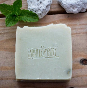 pumice and patchouli soap 110g