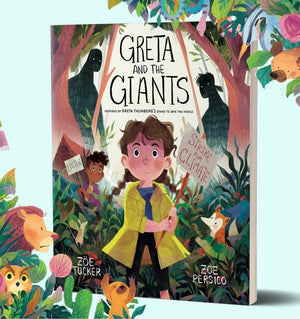 Greta And The Giants  - Children's Book - Zoe Tucker