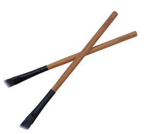 brow eyeliner bamboo makeup brush flawless
