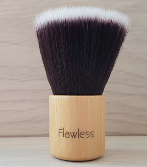 Mini Kabuki Bamboo Makeup Brush Flawless