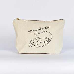 Organic Cotton Wash Bag UpCircle