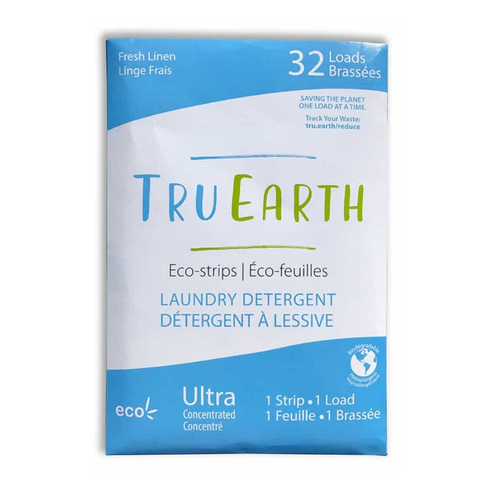 Eco-Strips Laundry Detergent - Fresh Linen - Tru Earth