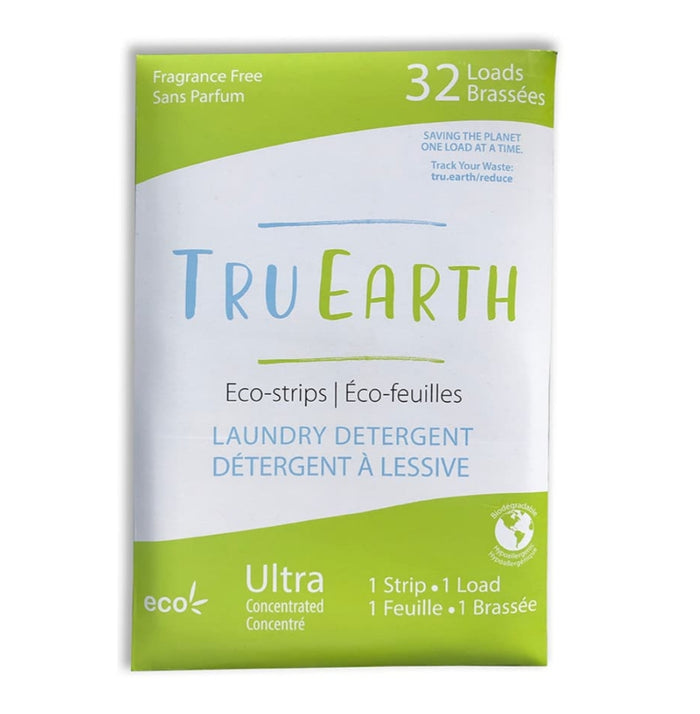 Eco-Strips Laundry Detergent - Fragrance Free - Tru Earth