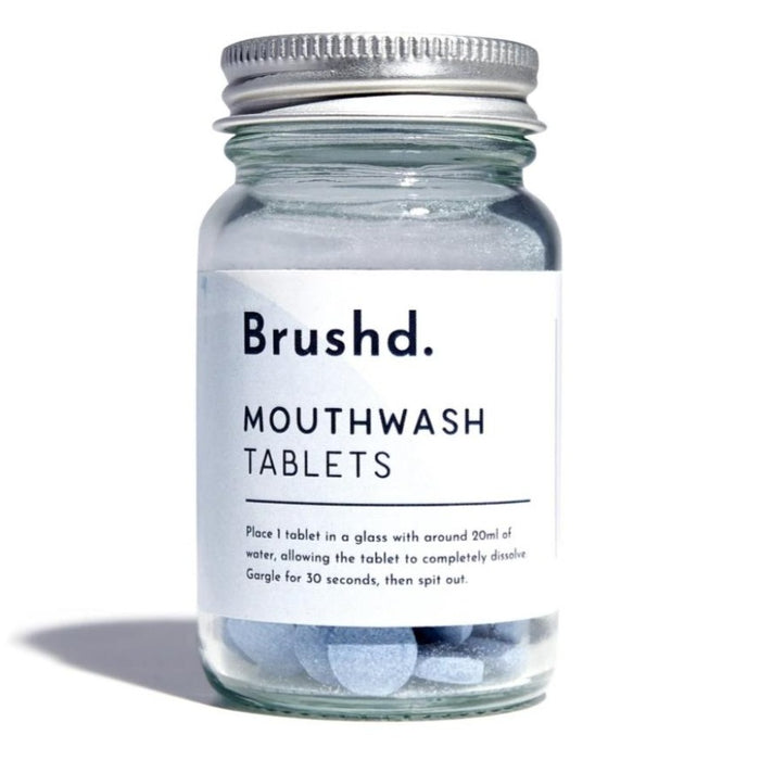 Mouthwash Tablets - Peppermint - Brushd.