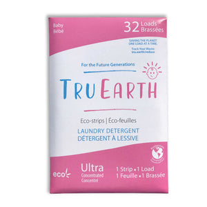 Eco strips laundry detergent baby tru Earth