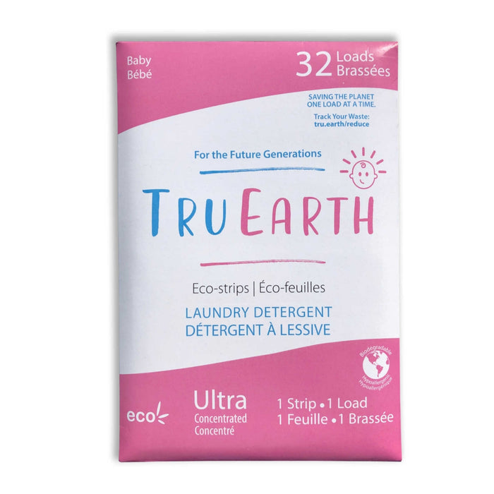 Eco-Strips Laundry Detergent - Baby - Tru Earth