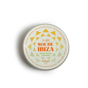organic vegan natural sunscreen sol de ibiza spf 30