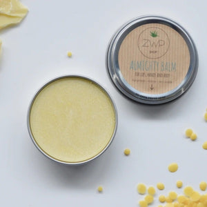 Unscented almighty balm lips hands body zero waste path