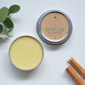 Balsamic balm lips hands body zero waste path