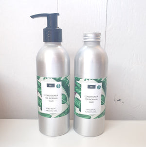Normal hair liquid conditioner bain & savon