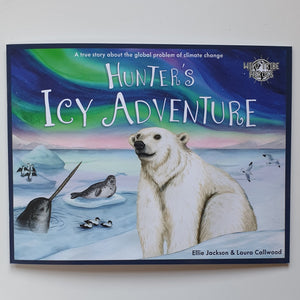 Hunters icy adventure wild tribe heroes childrens book