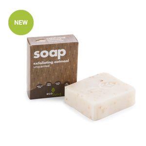 Unscented exfoliating oatmeal vegan soap ecoliving