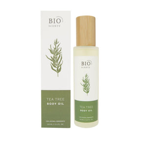 Organic tea tree body oil bio scents