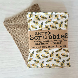 Scrubbies washing up pads bees