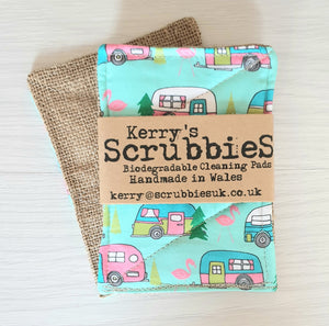 Scrubbies washing up pads vans