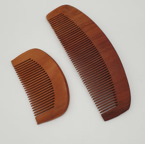 Small Wooden Comb Rugged Nature