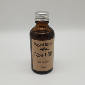 Lemongrass Beard Oil Rugged Nature