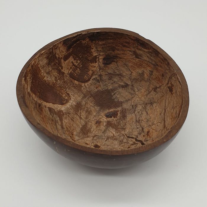Coconut Shell Shaving Bowl - Rugged Nature